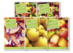 5 A Day Posters Fanned