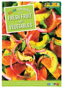Avocado And Orange Salad Poster