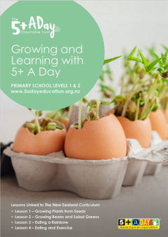 Growing And Learning With 5 A Day Lessons 1 4