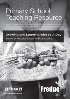 Growing  Learning With 5 A Day Resource Bw 1