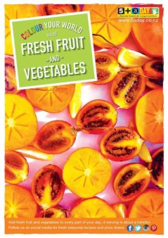 Persimmon And Tamarillos Poster
